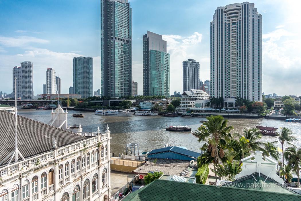 Blick vom Mandarin Oriental Cho Phraya