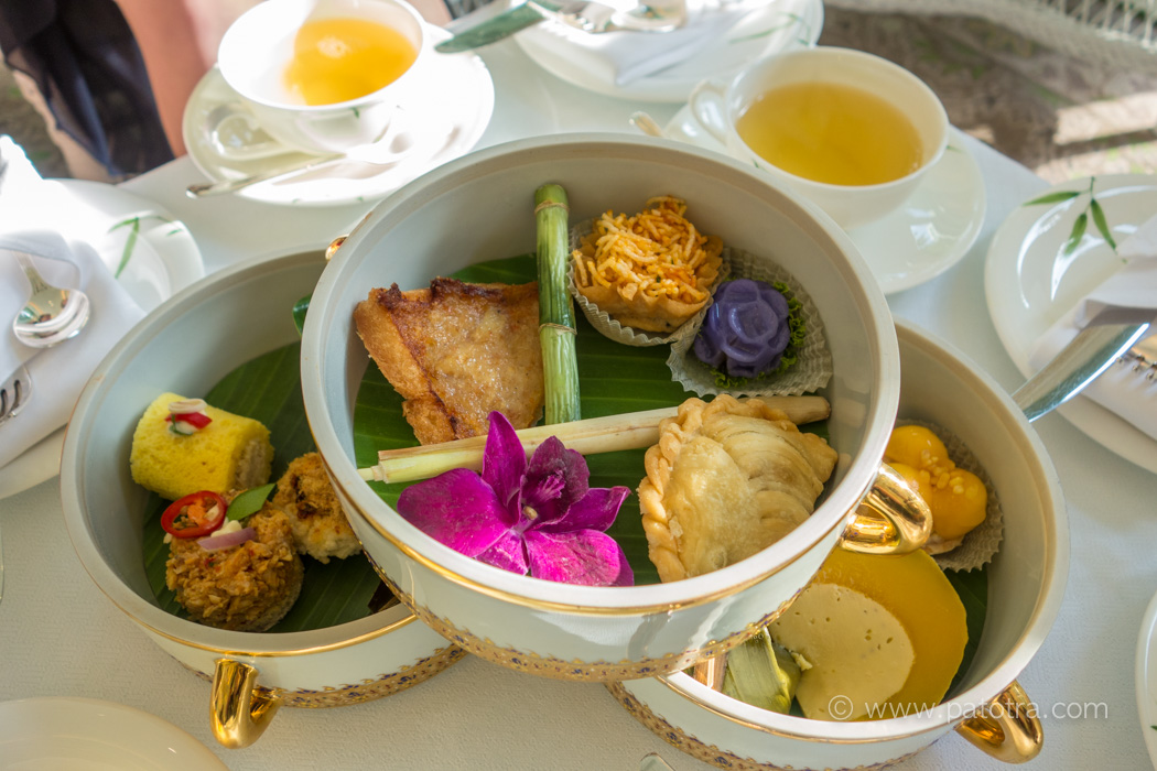 Thai Afternoon Tea Mandarin Oriental