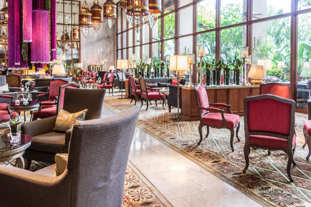 Mandarin Oriental Foyer