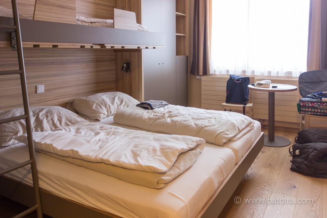 Zimmer KInder JUFA Hotel Malbun