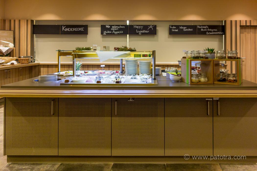 Buffet JUFA Hotel Malbun