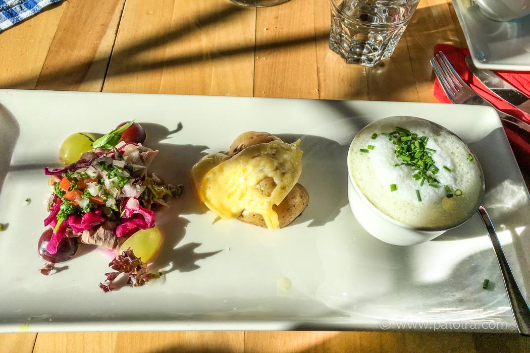Restaurant Paradies Speisen