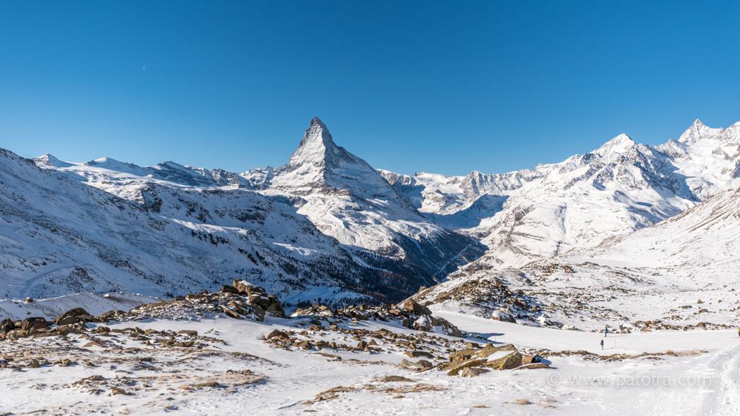 Winterwanderweg Zermatt
