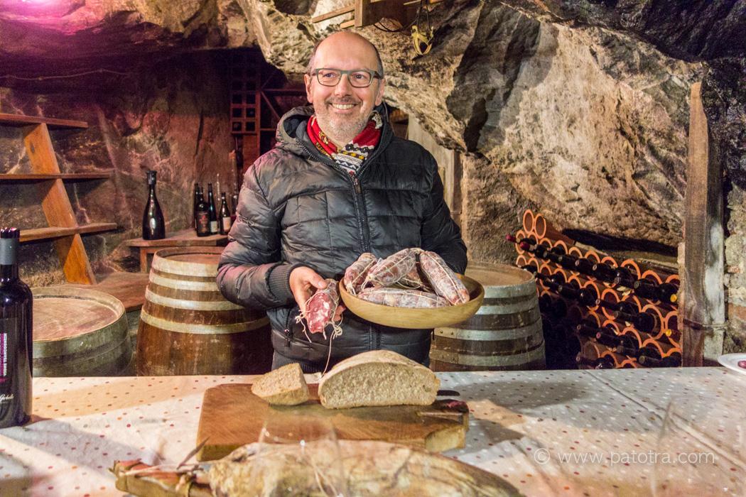 Salami von Segor Aostatal