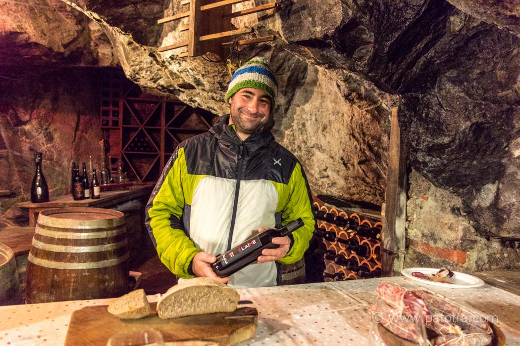 Wein aus dem Aostatal