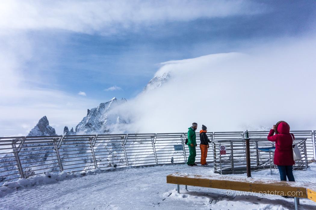 Herbronner Spitze Monte Bianco Mont Blanc