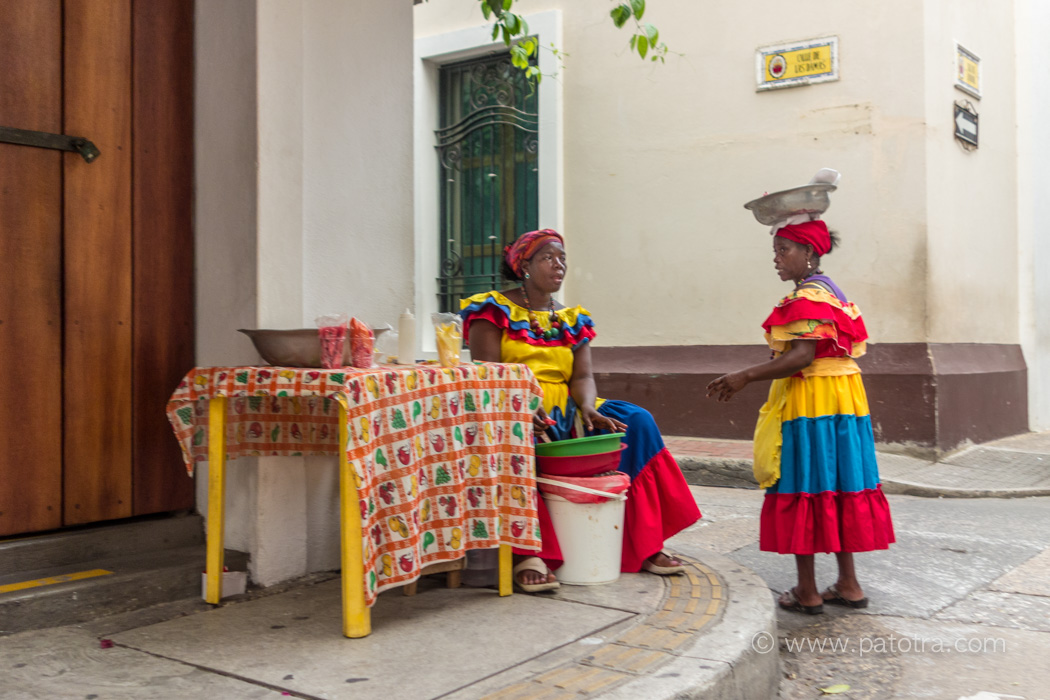 Afrikanerinnen Cartagena