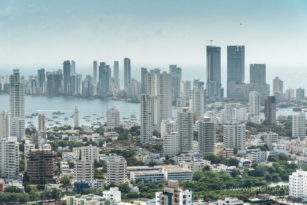 Cartagena Wolkenkratzer