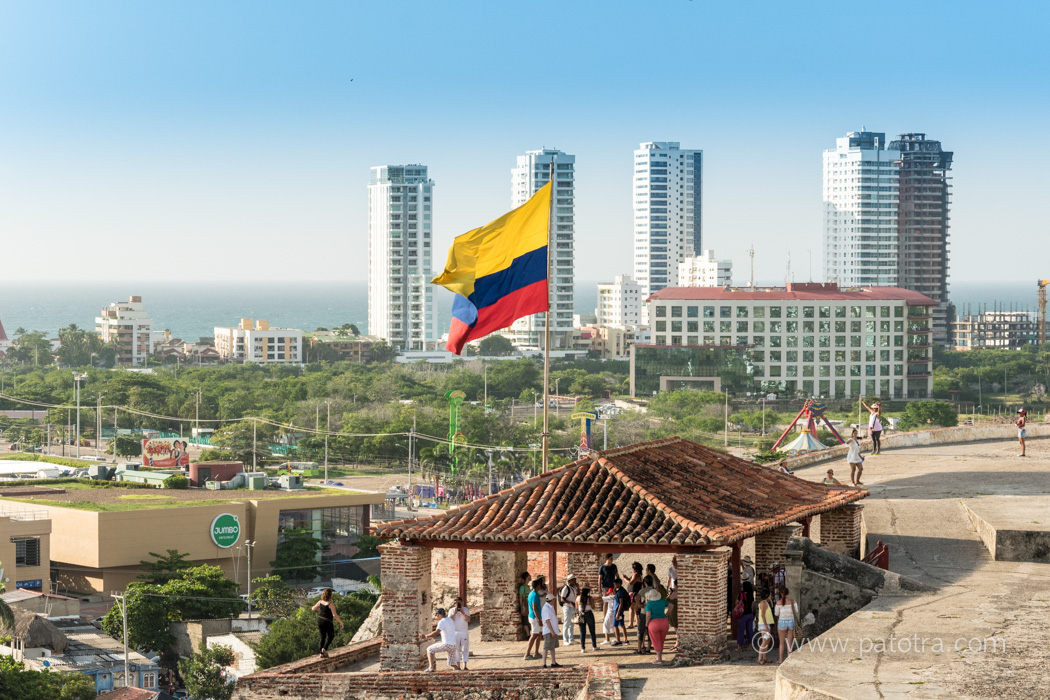 Cartagena San Felipe Kolumbien