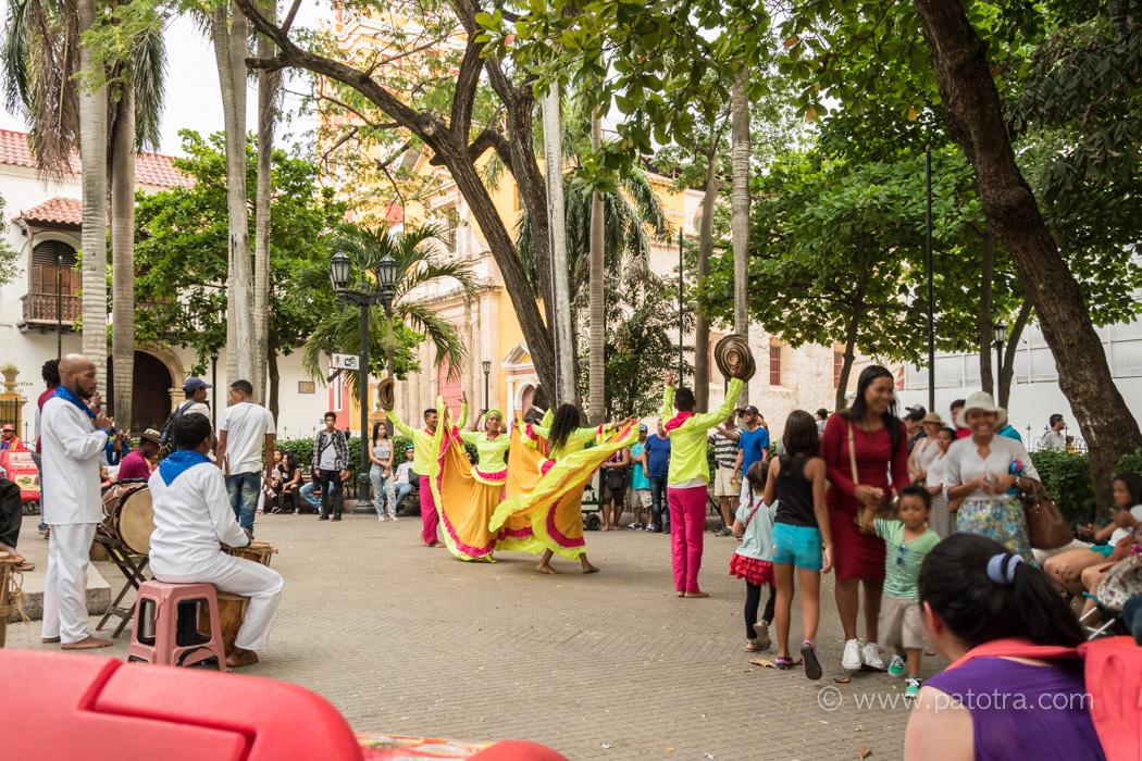 Strassenkunst Cartagena