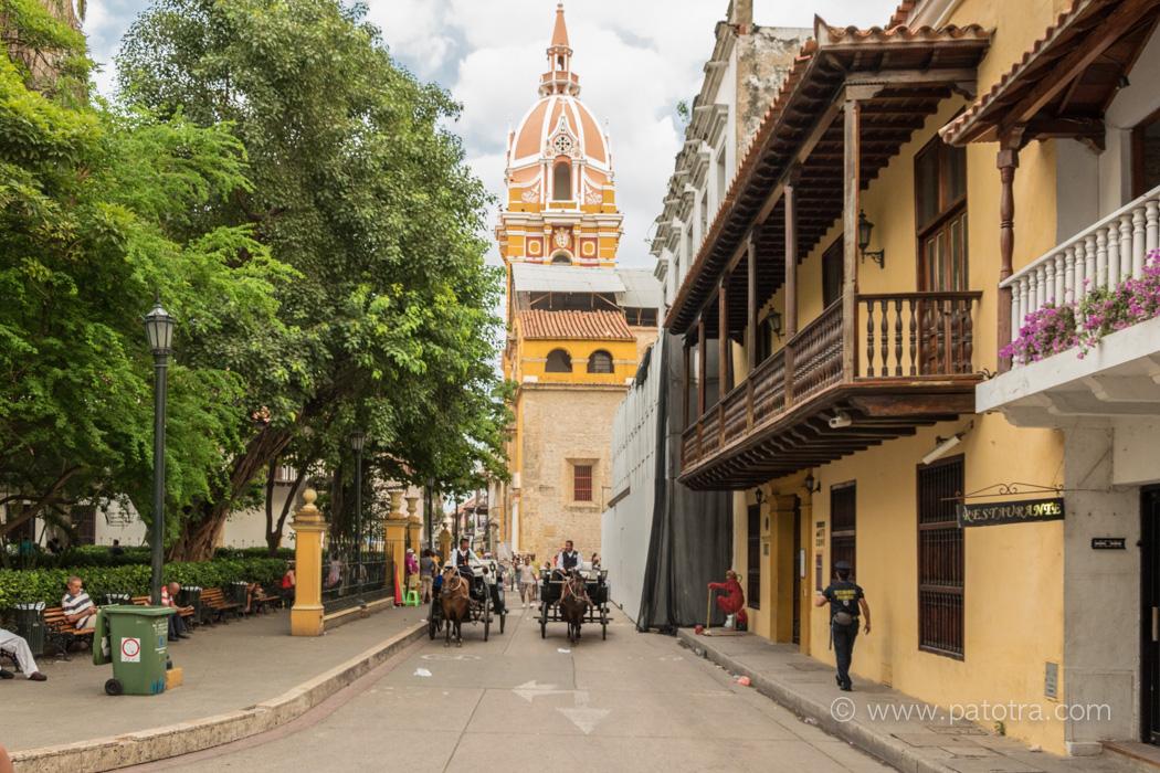 Altstadt Cartagena Kolumbien