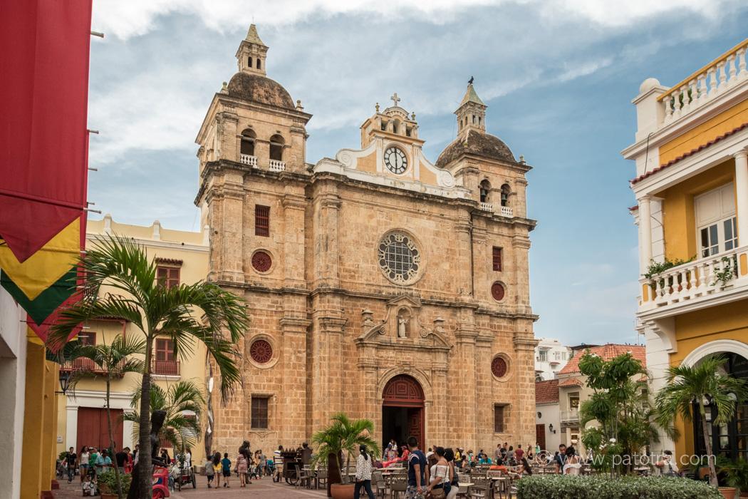 Cartagena Kirche Kolumbien