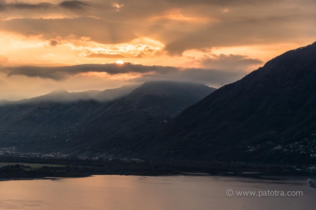 Lago Maggiore Sunset
