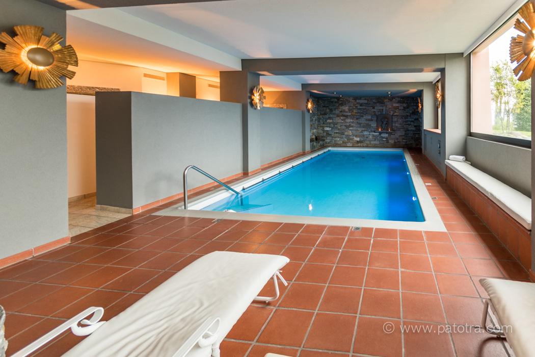 Villa Orselina Innenpool