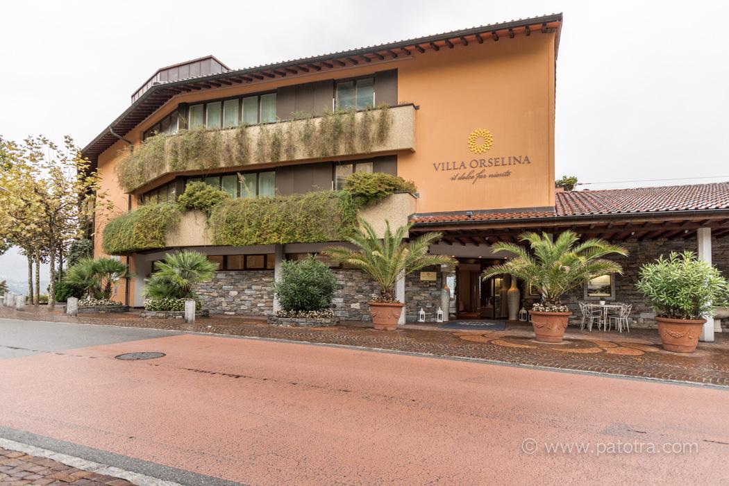 Eingang Villa Orselina