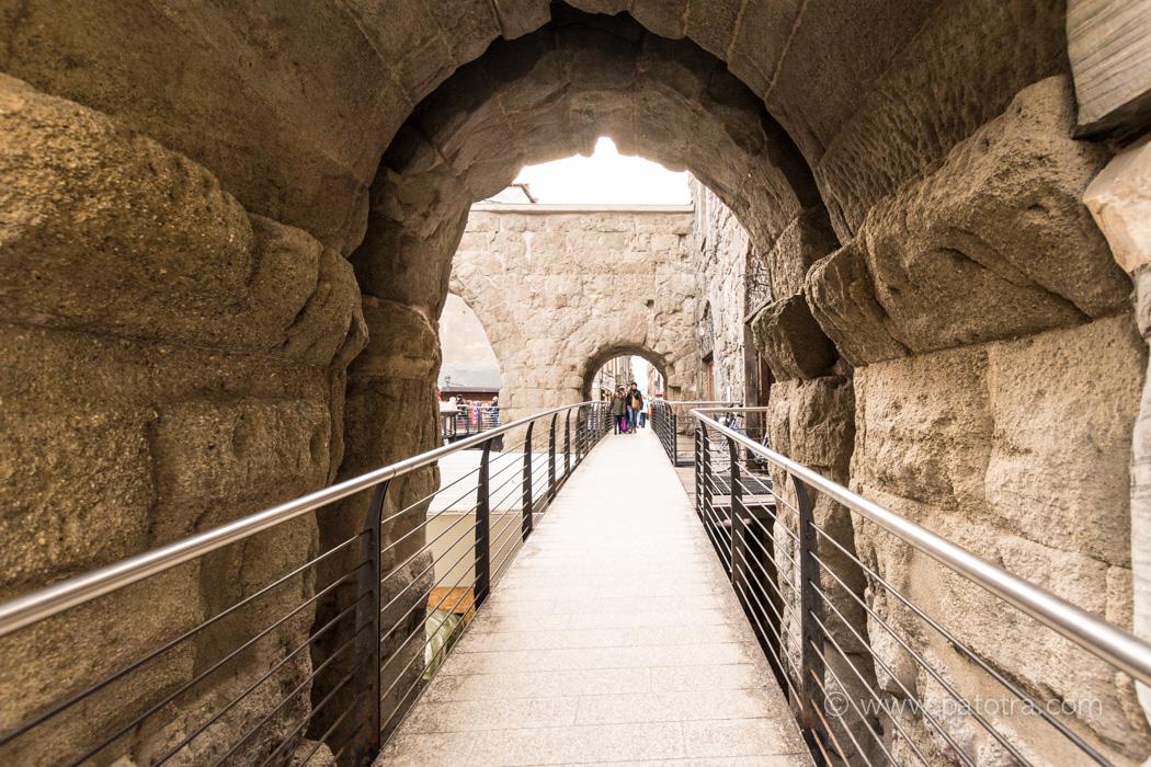 Aosta Mauern Rom