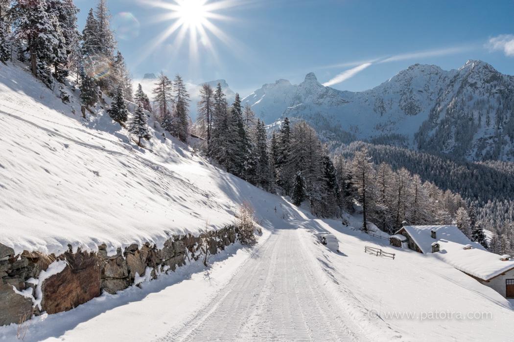 Winterwanderweg Champoluc