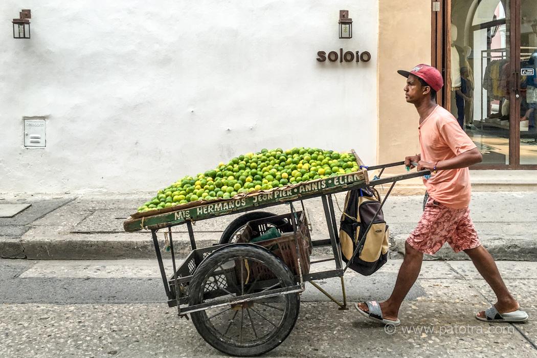 Cartagena Limettenverkäufer