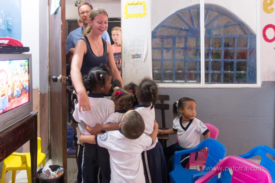 Armenviertel Cartagena Hilfsprojekt