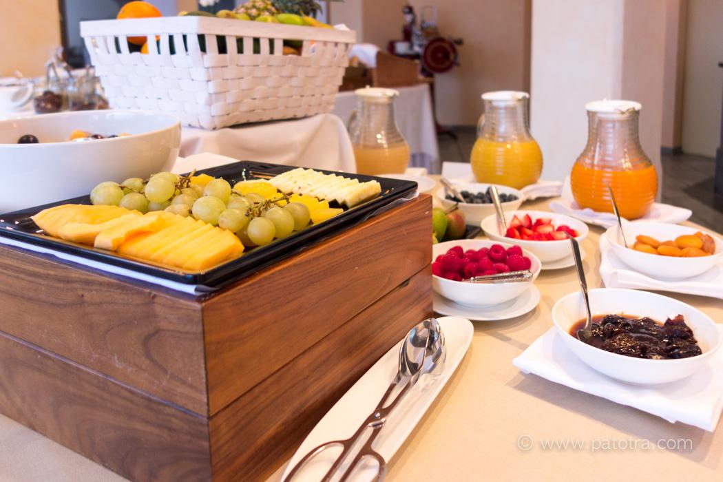 Morgenbuffet Villa Orselina