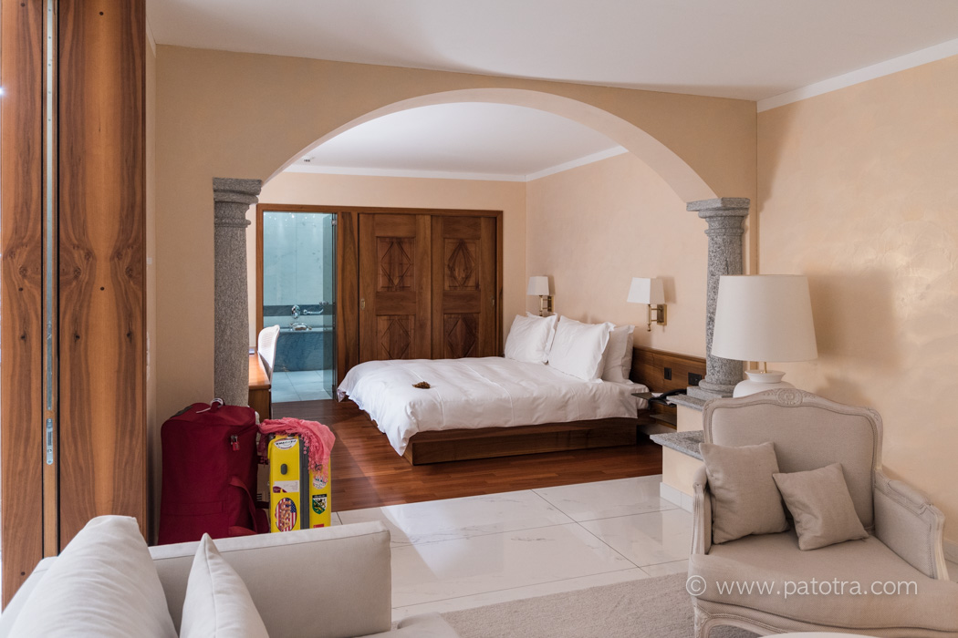 Suite in der Villa Oreslina