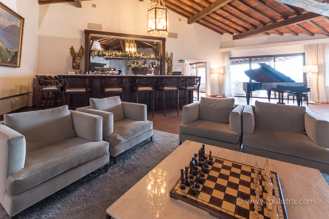 Barbereich Villa Orselina Tessin Locarno