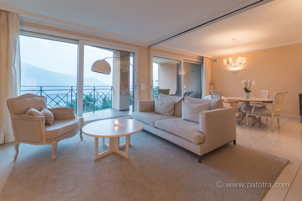 Villa Orselina Zimmer mit Seeblick