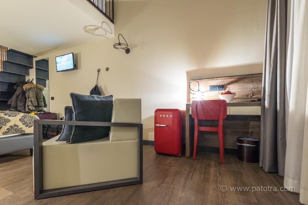 Moderne Zimmer Hotel Sporting Family Livigno