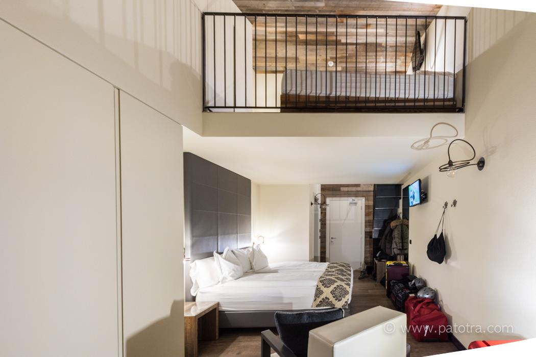 Familienzimmer zwei Etagen Hotel Sporting