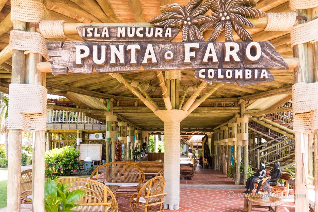 Isla Mucura Hote Punta Faro Paradies in der Karibik