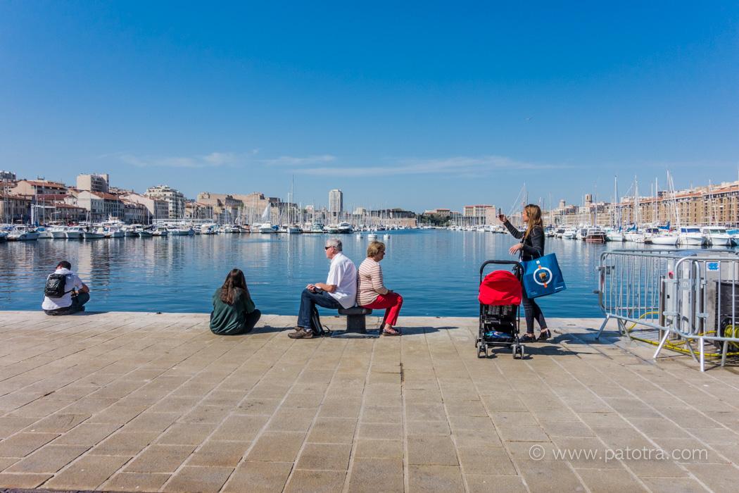 Marseille am Hafen