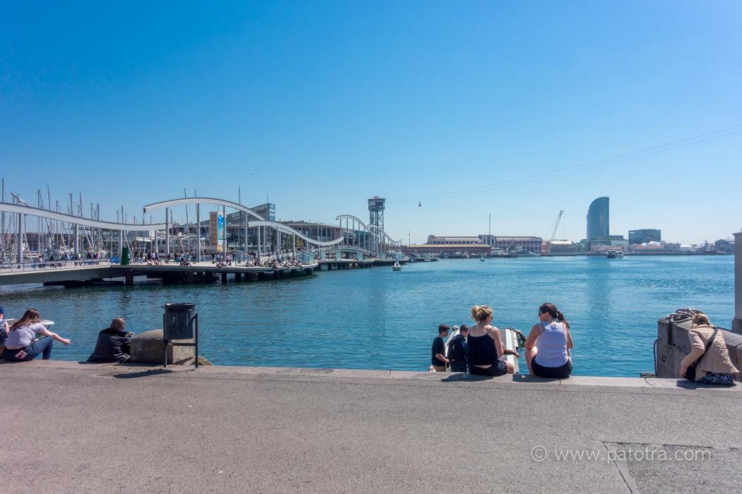 Barcelona Hafenleben