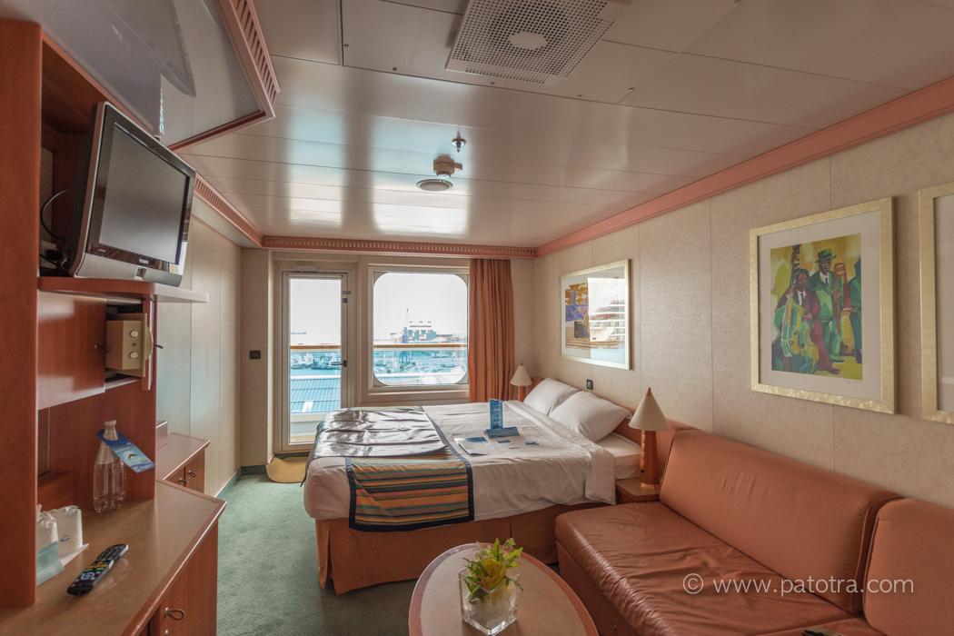 Costa Pacifica Aussenkabine mit Balkon