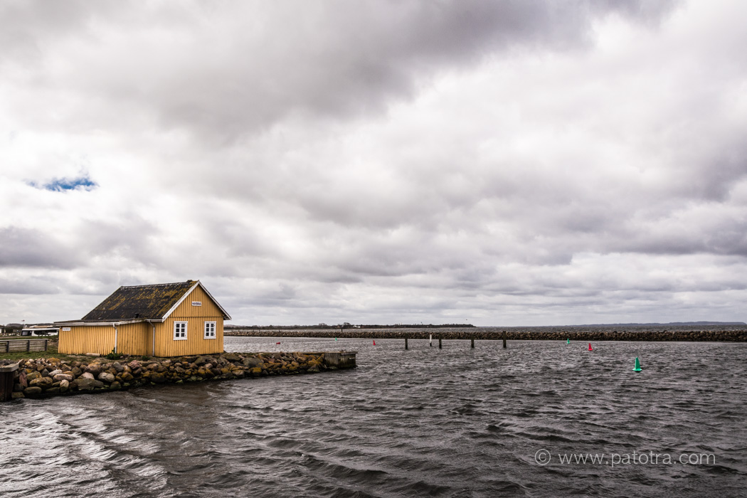 Hafeneinfahrt von Bogense Denmark