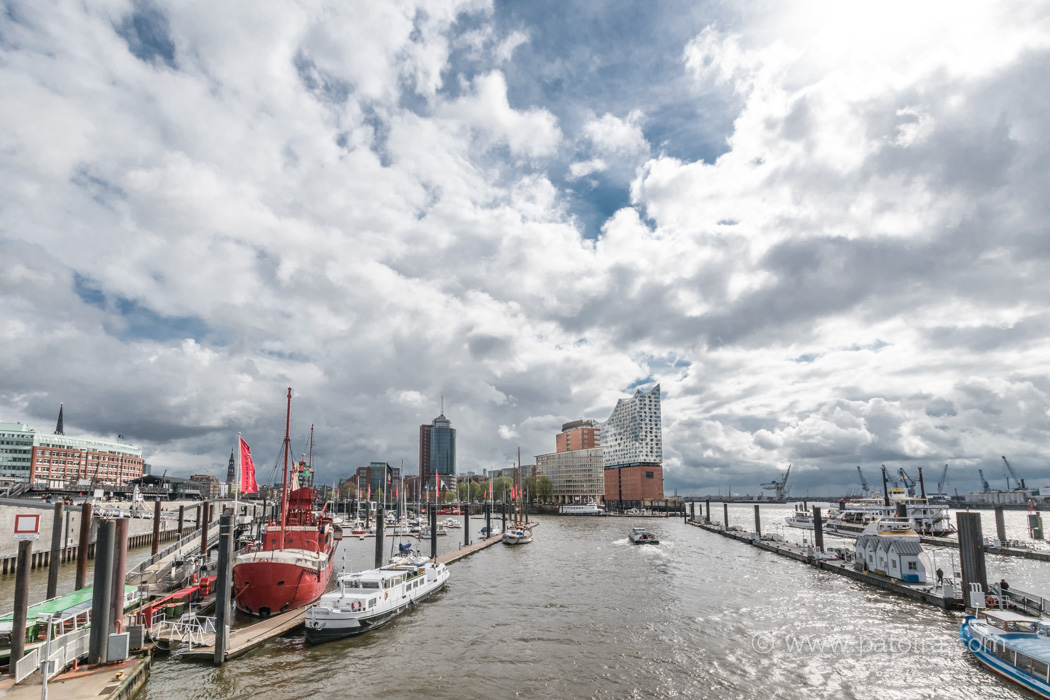 Hamburg Hafen und Elphi