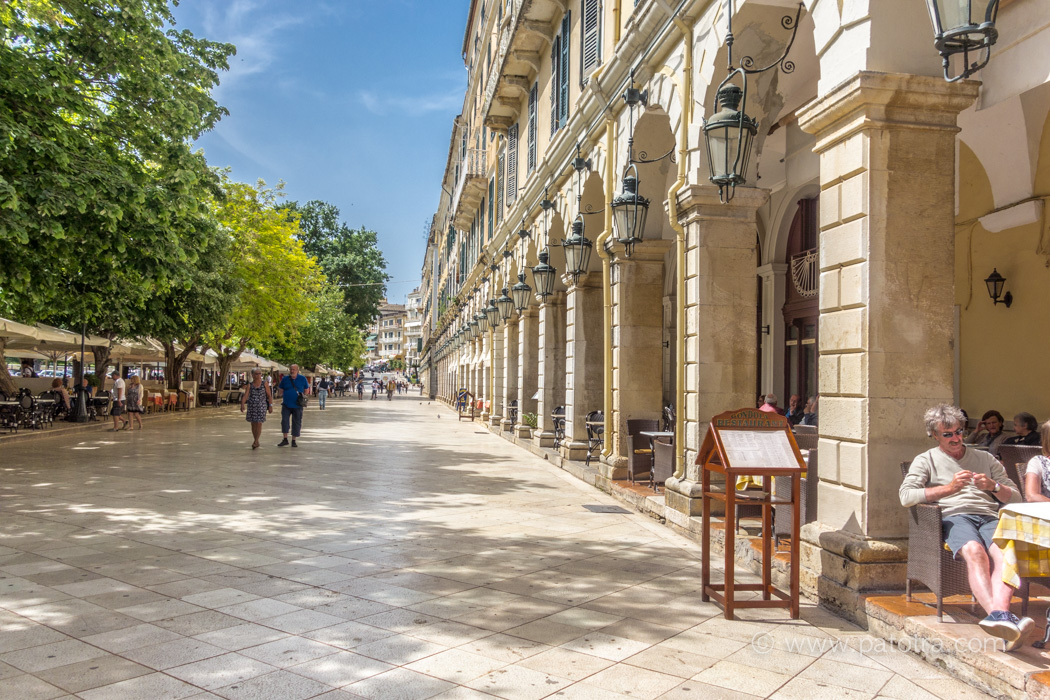Liston Korfu Stadt