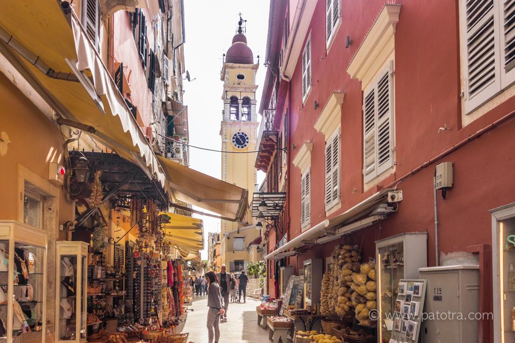 Korfu Stadtimpressionen