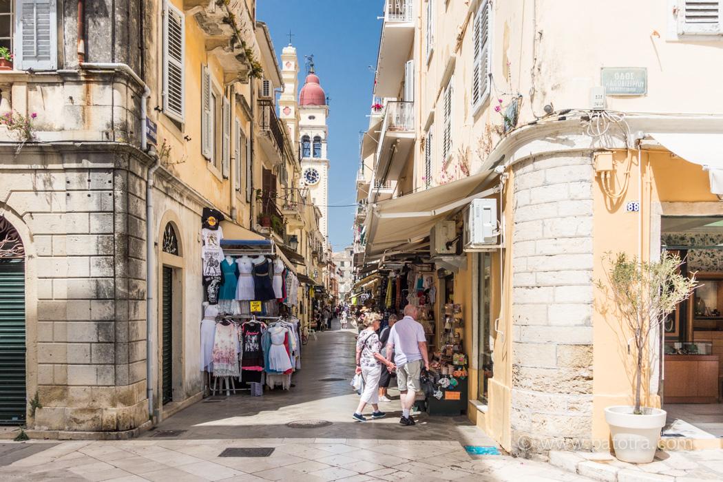 Altstadt Korfu Griechenland