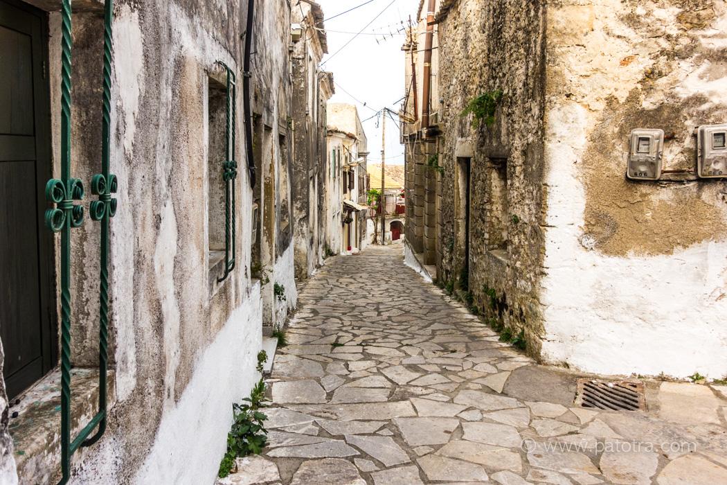 Korfu Dorfimpressionen