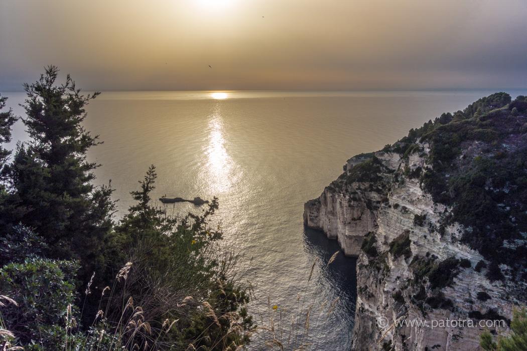 Sonnenuntergang Kastanida
