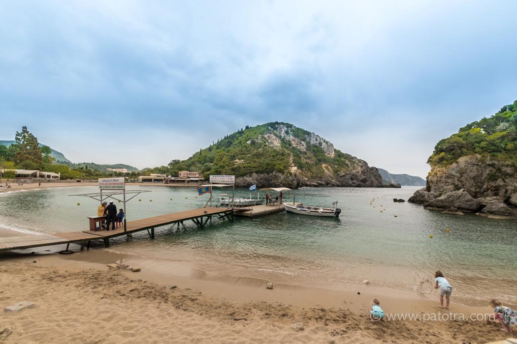 Paleokastritsa Strand