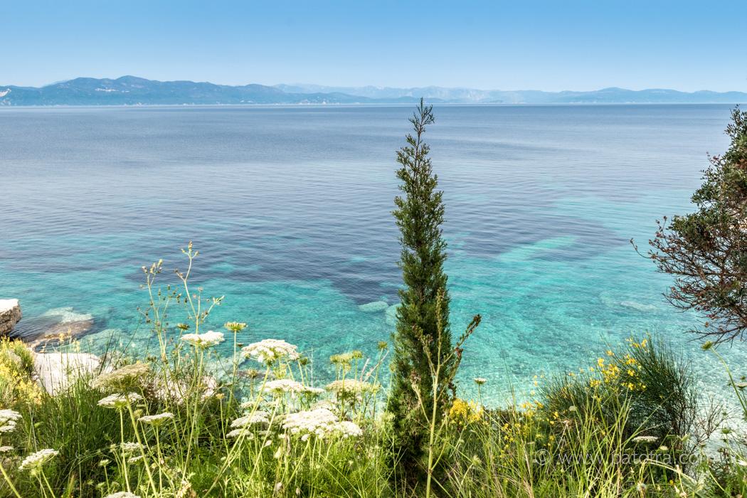 Insel Paxos Ionisches Meer Griechenland
