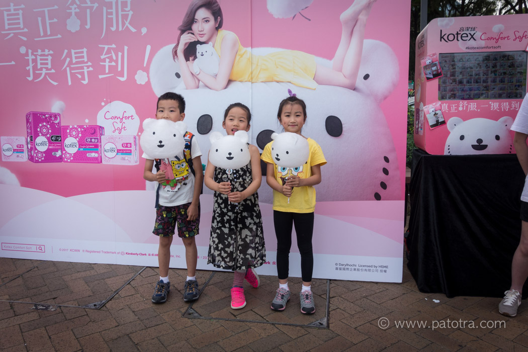 Selfiegesicht Hongkong