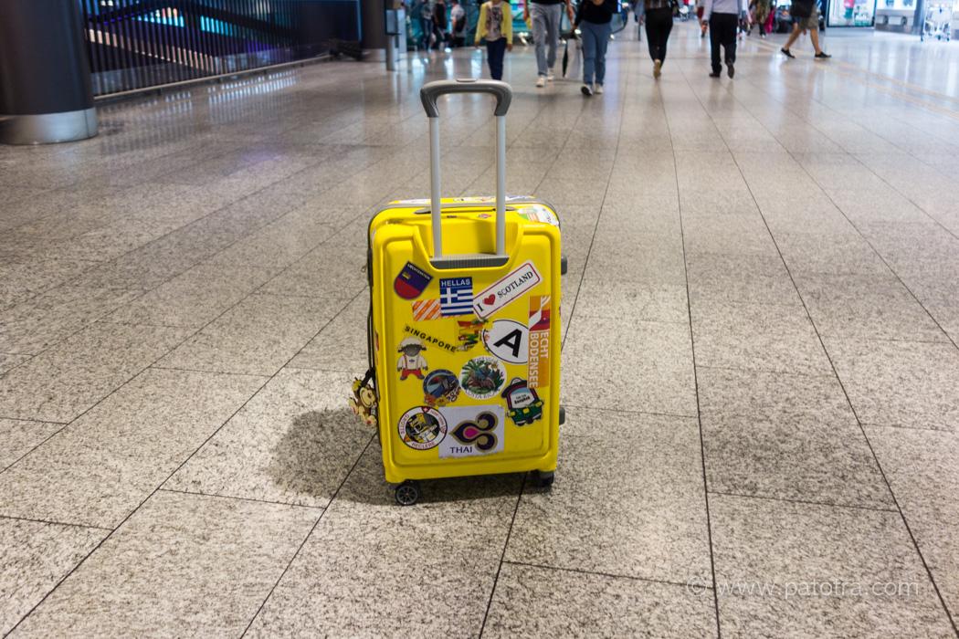 Reisevorbereitung Koffer packen