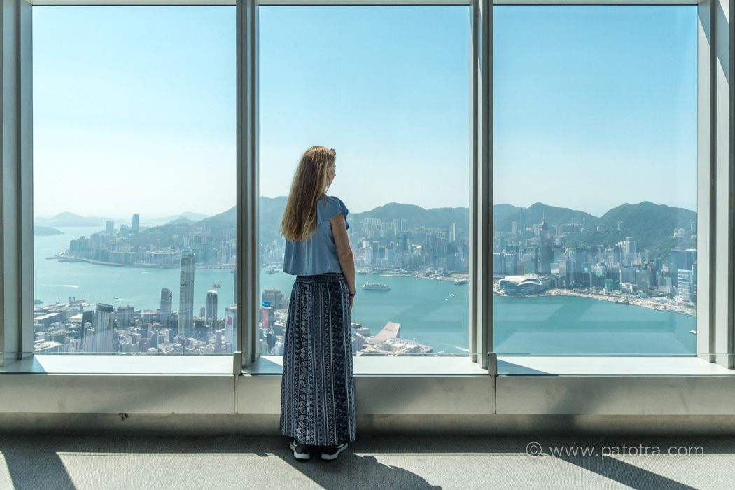 Sky view Hongkong