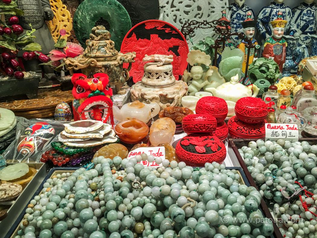 Jade Market Hongkong Souveniers