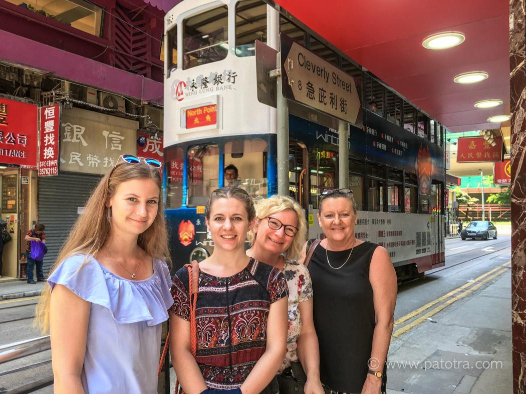 Hongkong mit Insidern