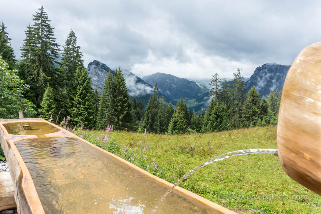 Ausblicke Alpen Diemtigtal