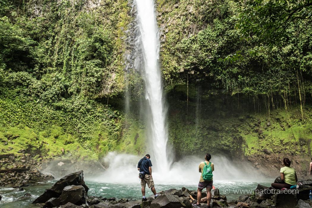 Wasserfall Rio Fortuna