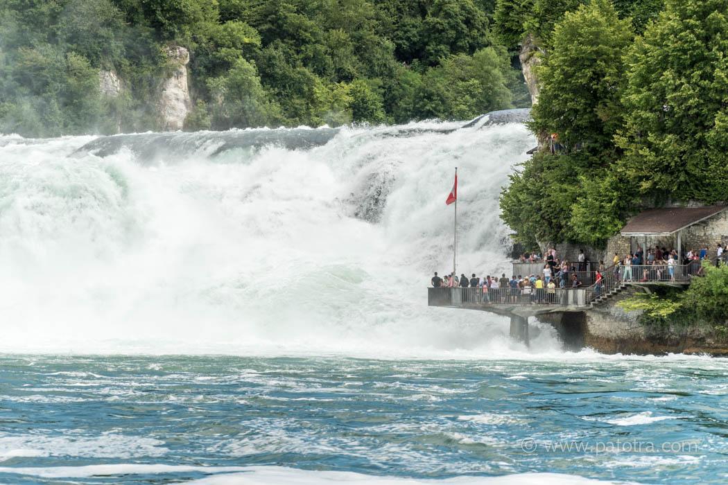 Aussichtspalttform Rheinfall